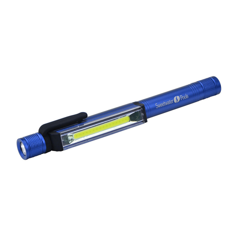 Magnetic Clip-On COB Dual Flashlight