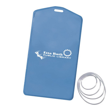 Waterproof Pouch w/ 36 in Loop Lanyard-Translucent