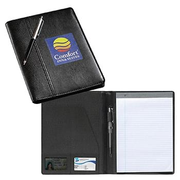 Wilshire Perforated PVC Junior Padfolio