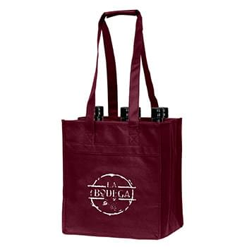 Polytex 6 Bottle Wine Tote