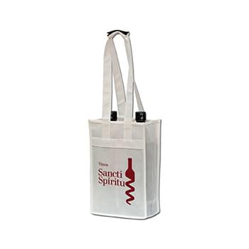 Polytex 2 Bottle Wine Tote