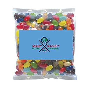Business Card Magnet w/Small Bag of Jelly Belllys