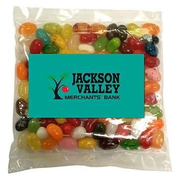 Business Card Magnet w/Large Bag of Jelly Bellys