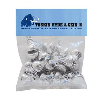 Hershey kisses in Small Header Pack