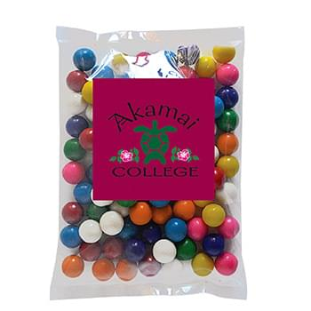 Gum Balls in Large Label Pack