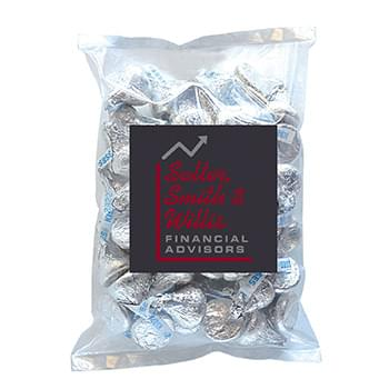 Hershey Kisses in Large Label Pack