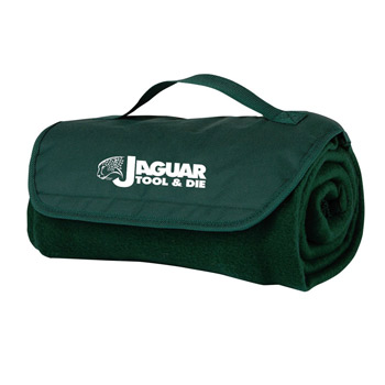 Fleece Roll Up Blanket W/Handle