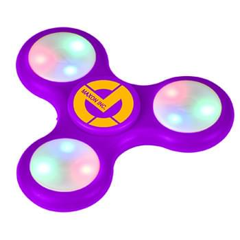 Flashing Gyro Spinner