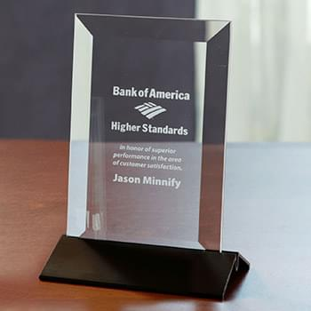 Epoch Vertical Medium Glass Award