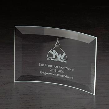 Icon Small Glass Award