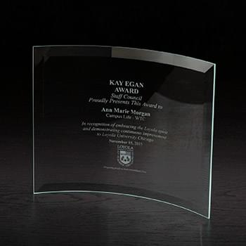 Crescent X-Large Glass Award