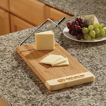 Two Tone Bamboo Cheese Cutter