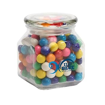 Gum Balls in Medium Glass Jar