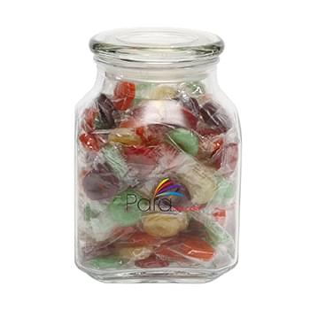 Life Savers in Large Glass Jar
