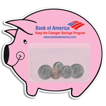 Piggy Bank Pocket Magnet