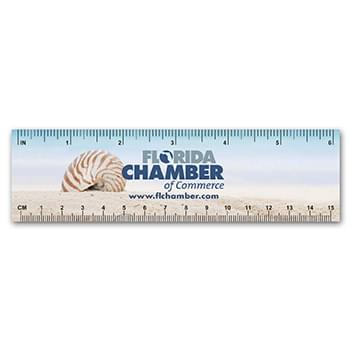 Plastic Ruler / Bookmark - 10 mil