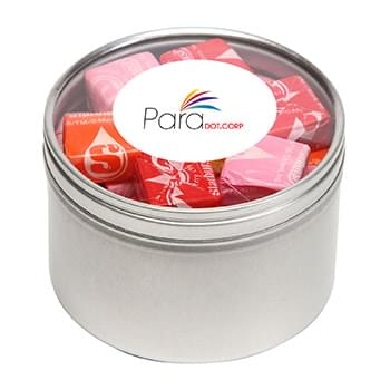 Starburst in Large Round Window Tin