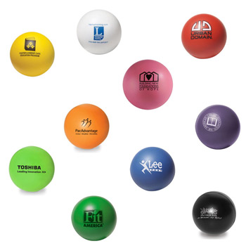 Round Color Stress Ball