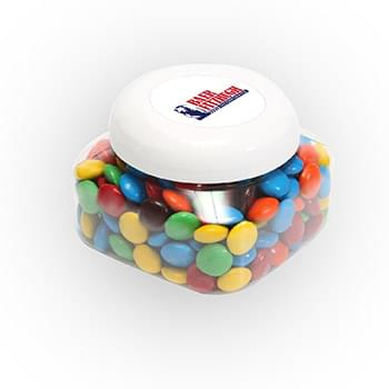 M&Ms - Plain in Large Snack Canister