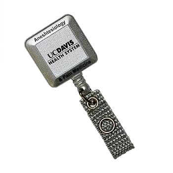Silver Tract Retractable Badge Holder