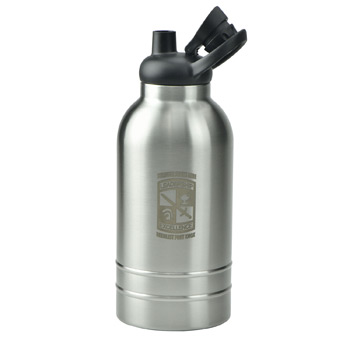 64 oz Double Wall Stainless Steel Vacuum Growler