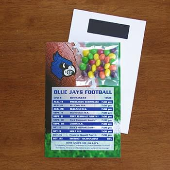Mini Bag Skittles on Stick Up Card