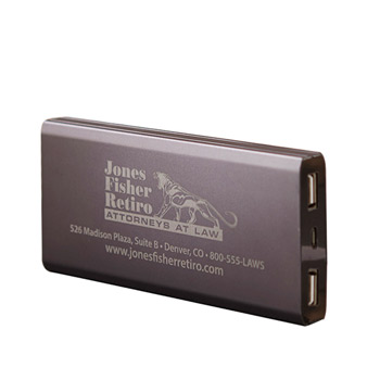 High Capacity Metal Power Bank