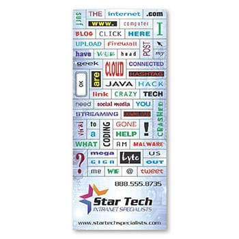 55 Words Message Magnet